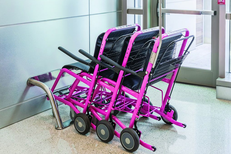Mini-docking staxi mobility chairs